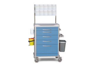 carro de curas de enfermeria
