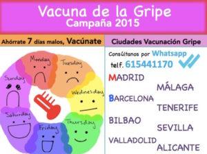 Vacuna de la Gripe 2015