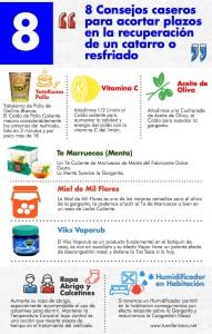 8 remedios caseros para el catarro.
