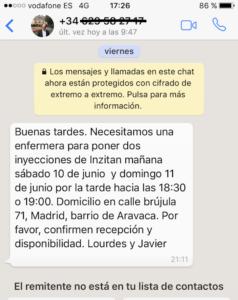 Servicios Enfermeria Madrid