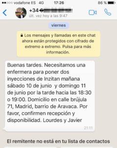 Ejemplo paciente Madrid